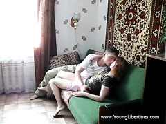 Redhead beauty Nelly gets excitingly licked and passionately fucked